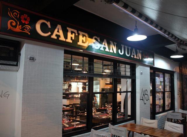 CAFE SAN JUAN, BUENOS AIRES....BUENIIIISIMO!