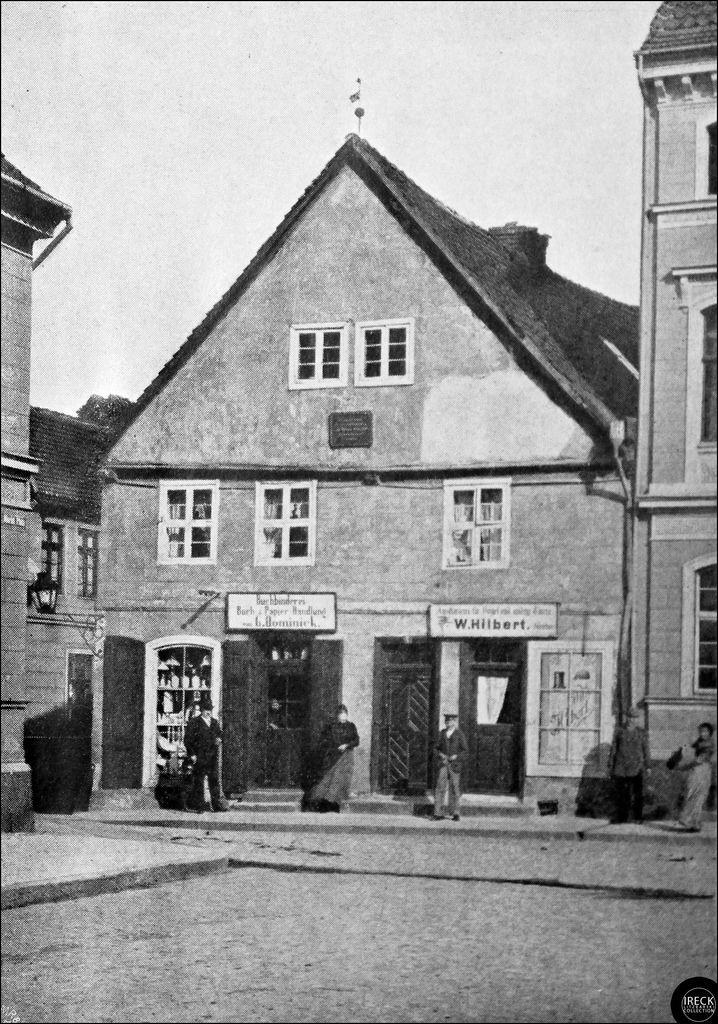 Schivelbein in Pommern Rudolf Virchows Geburtshaus