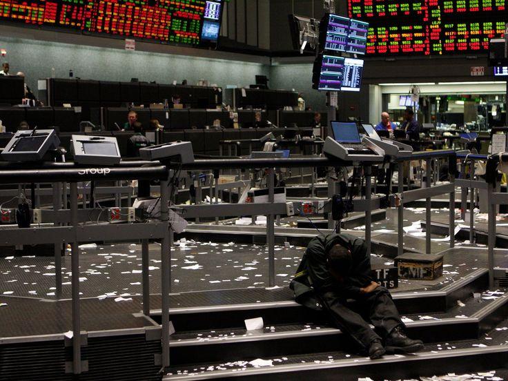America's leadership of the global stock market is ending