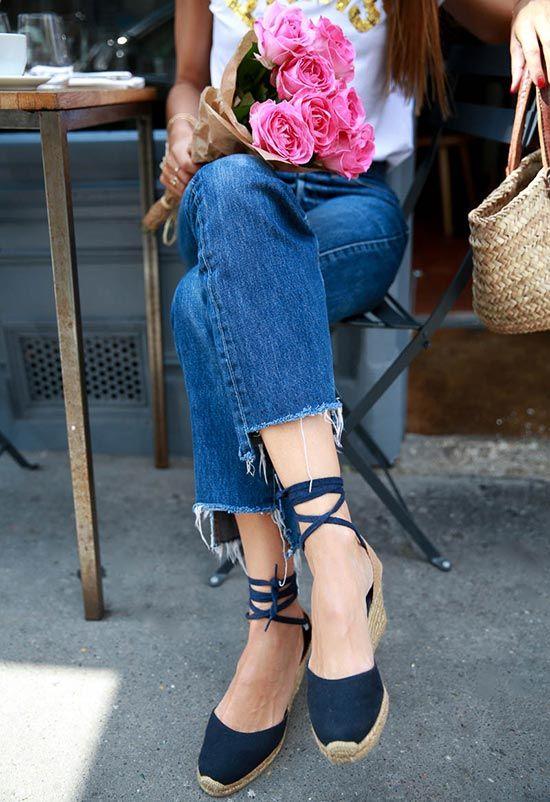 0b0d03b1c38ef 13 Flat & Wedge Espadrilles for Summer 2019: How to Wear Espadrilles ...