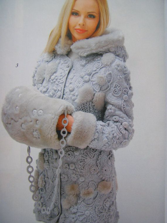 Crochet patterns Fashion Magazine Zhurnal by DupletCrochetSchool