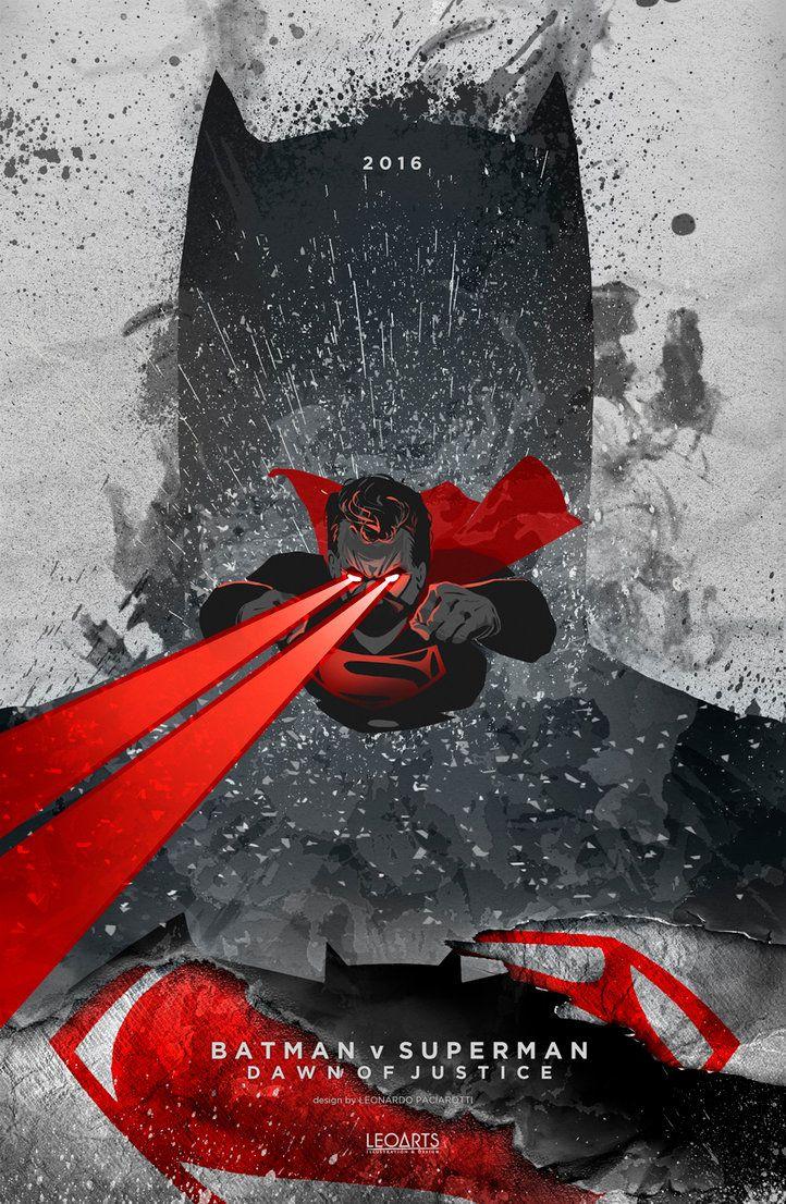 Batman v Superman: Dawn of Justice poster by le0arts on DeviantArt
