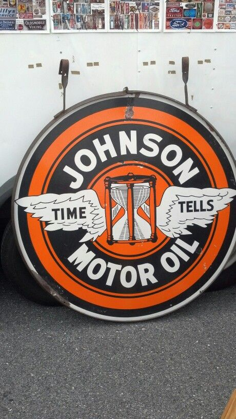 30 best johnson oil images on pinterest gas pumps gas for Sales on motor oil