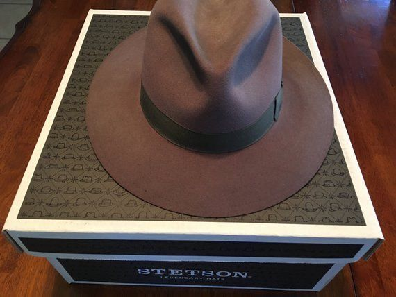 8190faad Stetson Chatham Royal Deluxe Hat with Box Size 7 1/4 Pristine Condition  #fashion #clothing #shoes #accessories #mensaccessories #hats (ebay link)