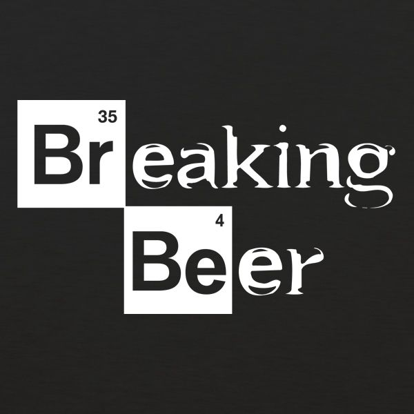 So would you want to be Jesse or Mr. White? Or maybe Gus. Everyone loved Breaking Bad. Everyone loves Beer. The show was about pushing the envelope. About making the best product. Brewing beer is about pushing the envelope…making a great product. Hence…the Breaking Beer t-shirt.