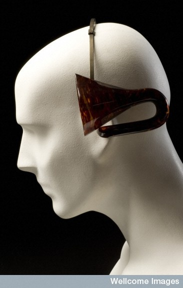 L0065764 Acoustic headband. © Science Museum, London / Wellcome Images.