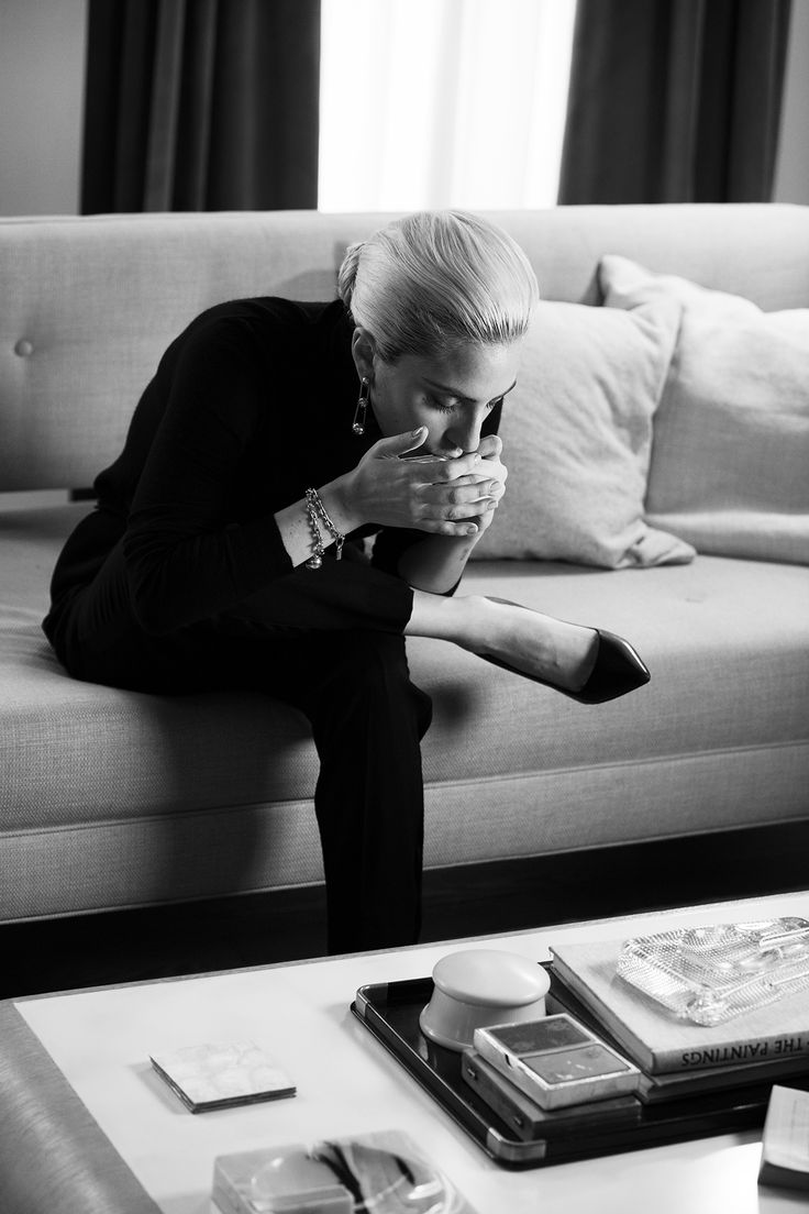 Lady Gaga in a behind the scenes look at her Super Bowl LI ad for Tiffany & Co.