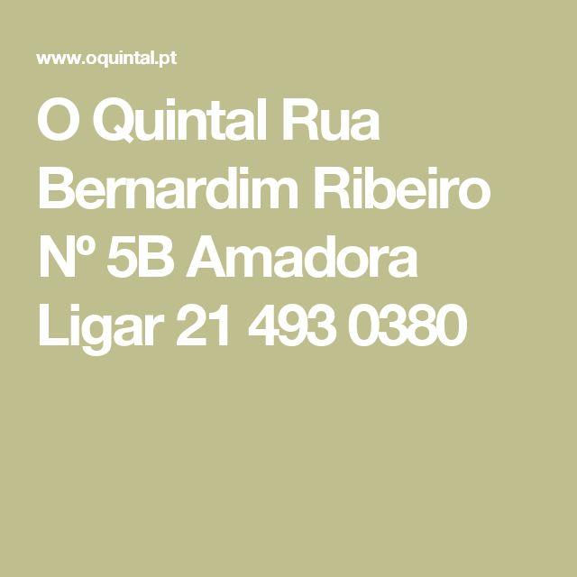 O Quintal Rua Bernardim Ribeiro Nº 5B Amadora  Ligar 21 493 0380