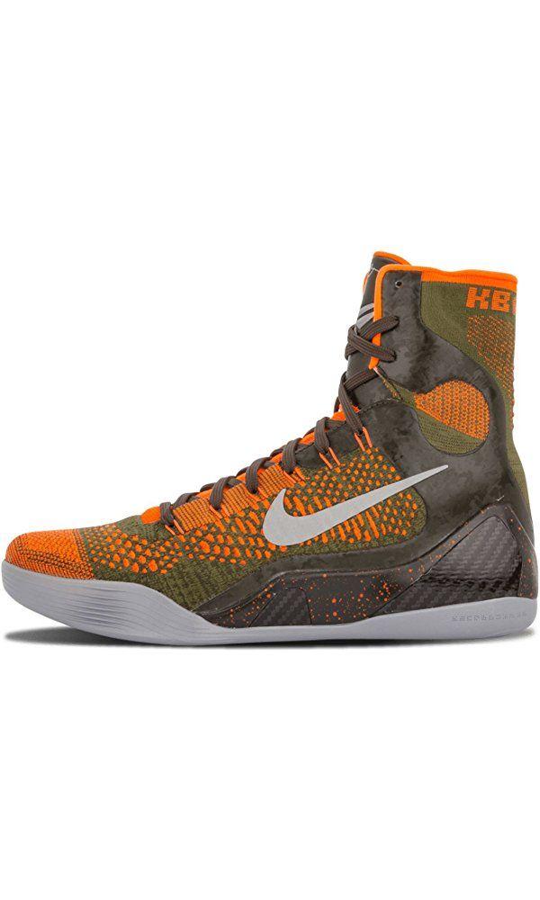 Nike Kobe IX 9 Elite Strategy 630847-303 Sequoia/Green/Silver Mens Basketball Shoes (size 10.5) Best Price