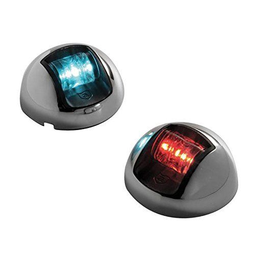 Attwood LED 1-Mile Vertical Mount Navigation Lights, Stainless Steel (Pair) by attwood. Attwood LED 1-Mile Vertical Mount Navigation Lights, Stainless Steel (Pair). one size.