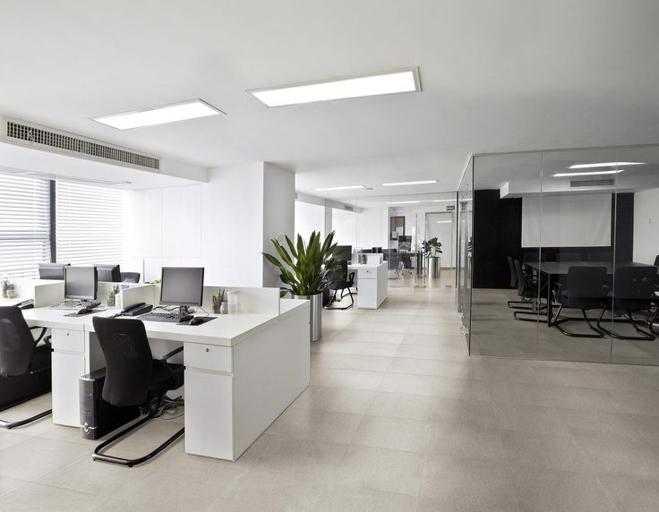 Classical, rustic and always in fashion is this grey porcelain tile to tile this office floor. Visit Nerang Tiles to see more or our website at www.nerangtiles.com.au
