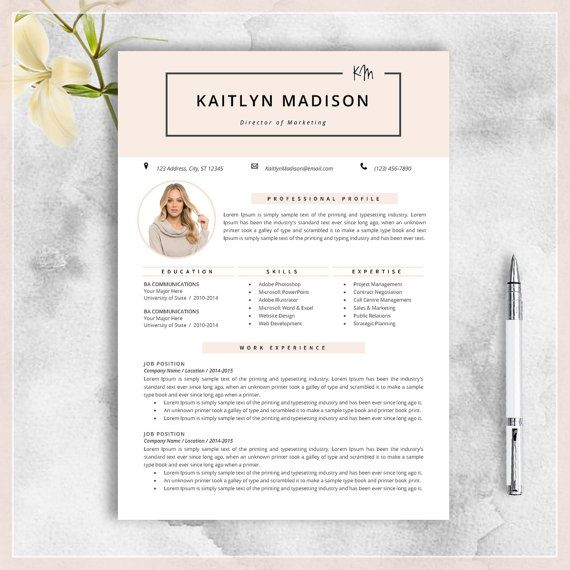 31 best Resume images on Pinterest Curriculum, Cv resume template