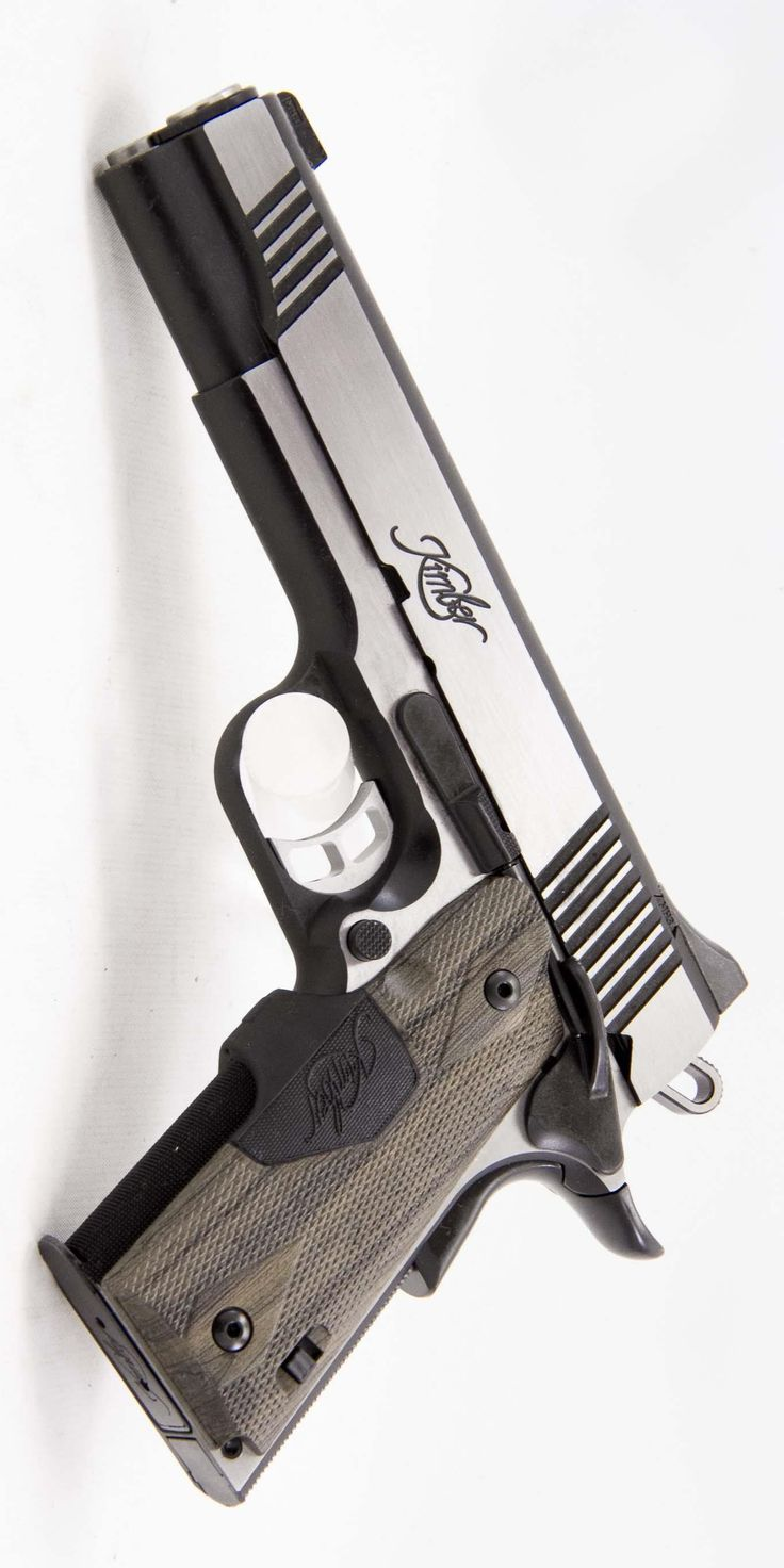 KIMBER MFG. - 1911 ECLIPSE CUSTOM II LG 45 ACP 5IN 45 ACP HANDGUN SEMI AUTO PISTOL FIREARM STAINLESS 8+1RD @aegisgears