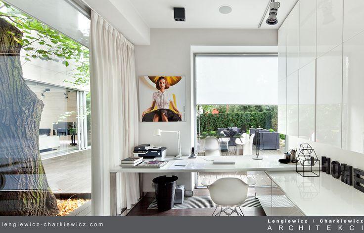 Dom znanej projektantki mody. Projekt i realizcja: lengiewicz-charkiewicz.com (fotografia: Aleksander Rutkowski)