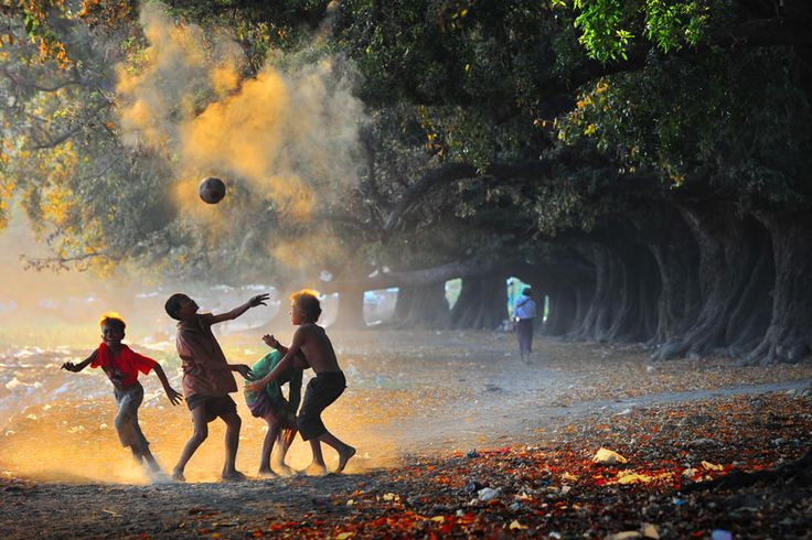 Soccer Times - Location is near Mandalay in Myanmar.