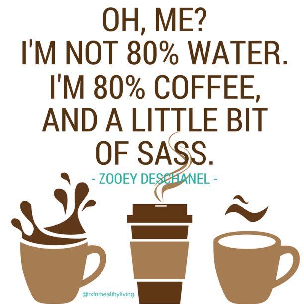 We're not 80% water. We're 80% coffee. #coffeelovers