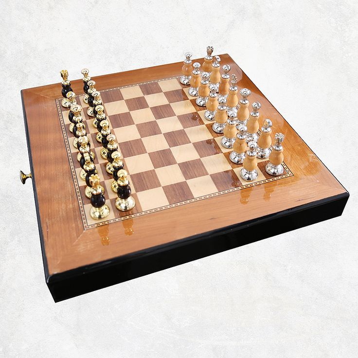 ==> [Free Shipping] Buy Best Top Quality Chess Set Mental-Wooden Chess Chessman Nice Gift for Friends Game Collection Home Decoratio Ornament Arts and Crafts Online with LOWEST Price | 32796455577