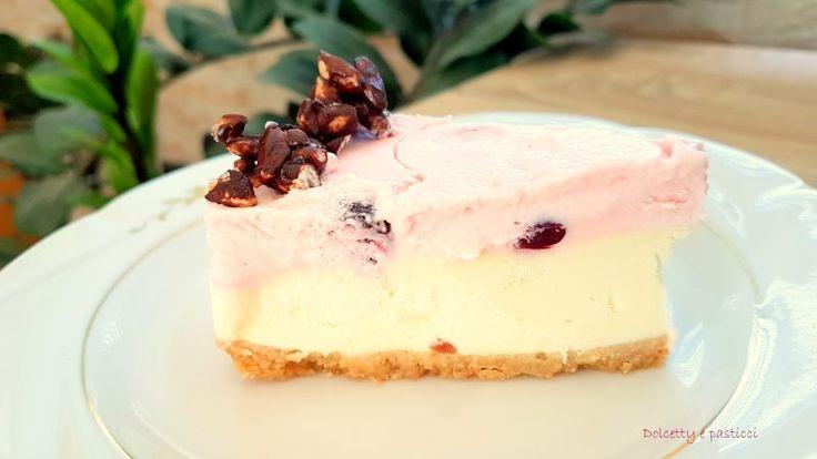 Una torta fredda fantastica con un abbinamento che non ti aspetti! Da provare assolutamente, un connubio di sapori delicato dalla consistenza cremosa