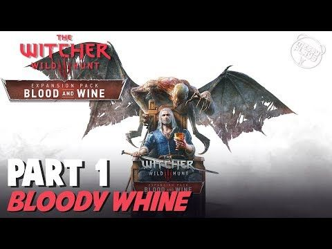 WITCHER 3: BLOOD AND WINE - Part #1 - LETS PLAY with Commentary - MESSYP...