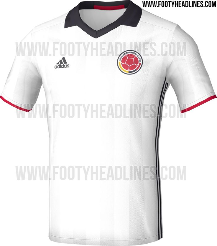 Totally New Colombia 2016 Copa America Home Kit Leaked - Footy Headlines
