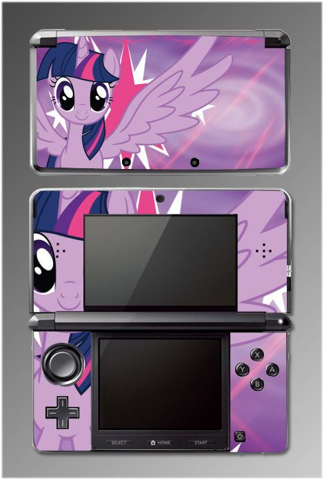 Twilight Sparkle My Little Pony Equestria Girls MLP Game SKIN Cover Nintendo 3DS in Video Games & Consoles | eBay