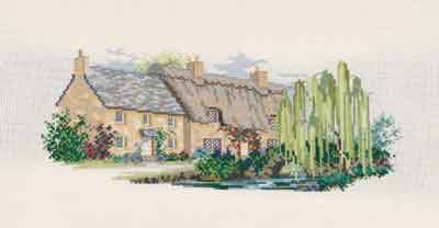 Willowbrook Lane by Derwentwater Designs (9 of 10), counted cross stitch kit