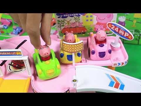 Peppa Pig English Episodes in Toy City   Peppa's Life in Christmas 2017 ...