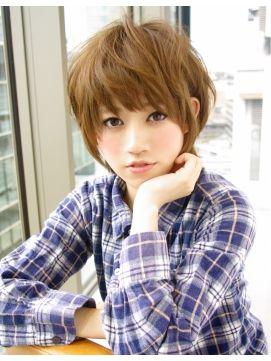 "Afloat Japan AFLOAT JAPAN AFLOAT ""said Nobuyuki"" curly hair style casually short look good in curly hair ☆"