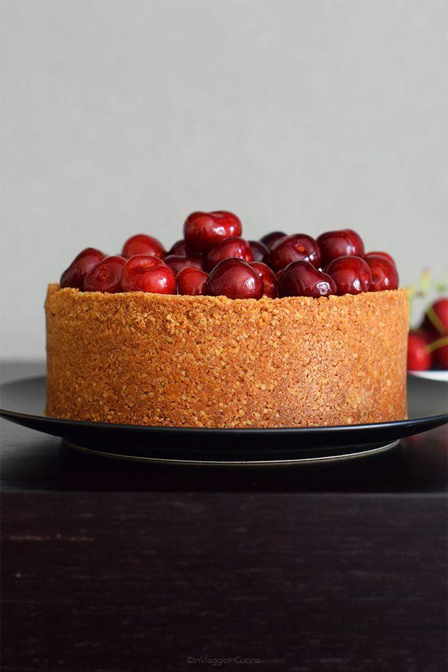 In viaggio in cucina: Cheesecake alle ciliegie