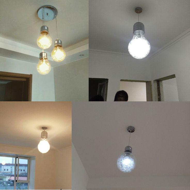 Nieuwe 150mm x 250mm Korte Gepersonaliseerde Grote Lamp Vintage Hanglamp Glas Voor Thuis Bar Koffie Winkel Teller gangpad Gratis Verzending