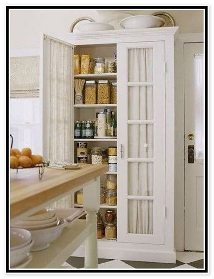 Free standing kitchen pantry cabinets home for Kitchen pantry cabinet