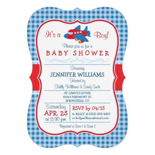 17 bästa bilder om airplane baby shower invitations på pinterest, Baby shower invitations