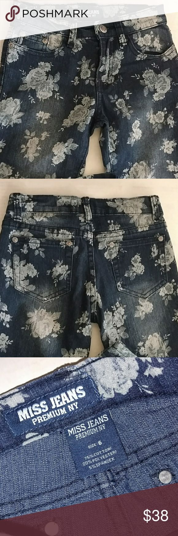 GIRL'S MISS ME JEANS Design as Shown Great Condition !! Miss Me Bottoms Jeans