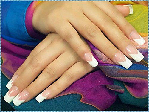 Amazon.com: Professional 1-9 Sizes V Shaped Cutter French Manicure Nail Art Tool Poly Tips Pink White Trimmer UV Gel Nail Polish: Beauty $8.89  http://amzn.to/2v5njOe