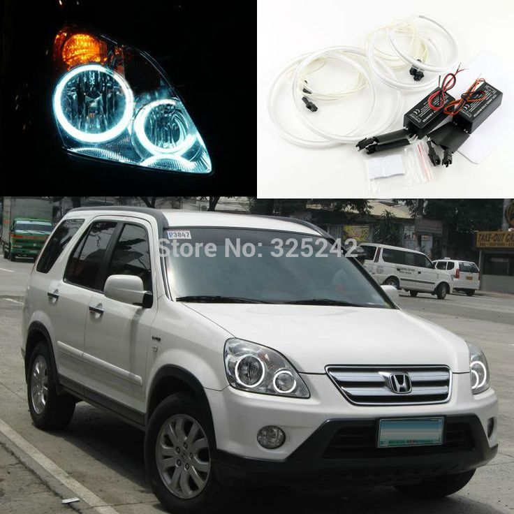 For Honda CR-V CRV 2005 2006 Excellent Ultra bright headlight illumination CCFL Angel Eyes kit Halo Ring angel eyes kit
