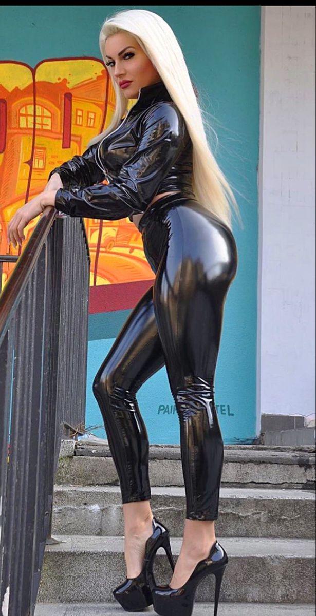 Kostüm frau latex Latex Kleidung