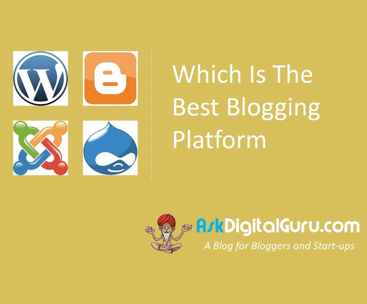 Hi folks! Have you need looking around on internet searching for which is the best blogging platform? Well here we have the answer . Choose now!