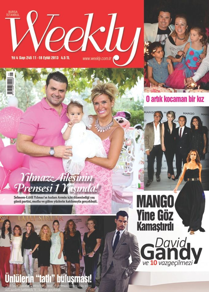 Bugün günlerden WEEKLY! Dergi okumak bu kadar kolay ve keyifli olmamıştı. Hemen okumak için;http://www.dijimecmua.com/weekly/8508/index/ yayında ve bayilerde... www.weekly.com.tr