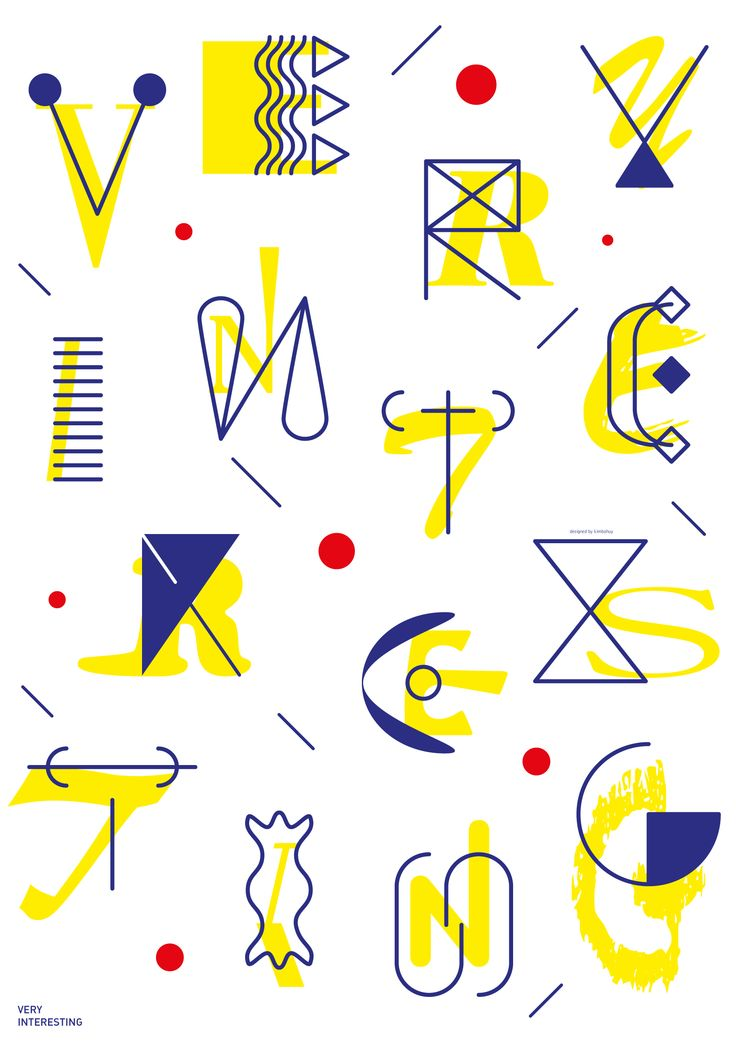 Typography Design by Bohwi Kim