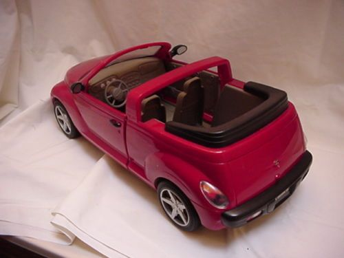 B F Edf E C Abad Ccb C on Red Chrysler Pt Cruiser Toy