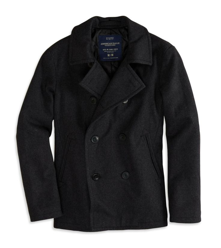 Bought myself today a nice marine short peacoat.
