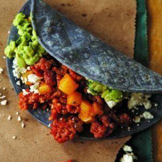 Tacos de Chorizo con Papa