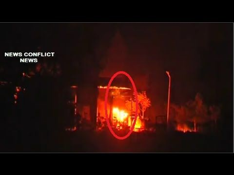 Ukraine War Crisis | Artillery Burn something in East Ukraine ∙ Ukraine ...