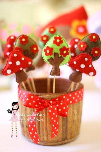 Felt Trees & Mushrooms