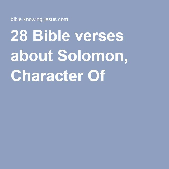 King Solomon Quotes: 16 Best KING SOLOMON EVERYTHING I WOULD NEED TO KNOW