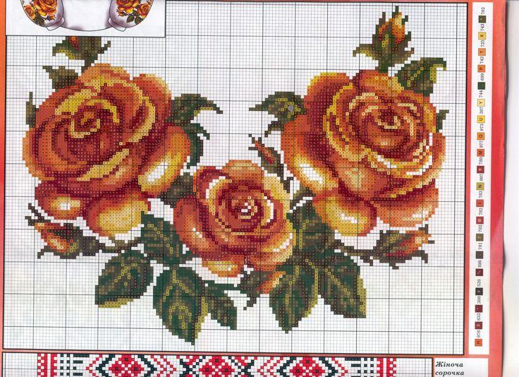 Tunika sa prelepim ružama.