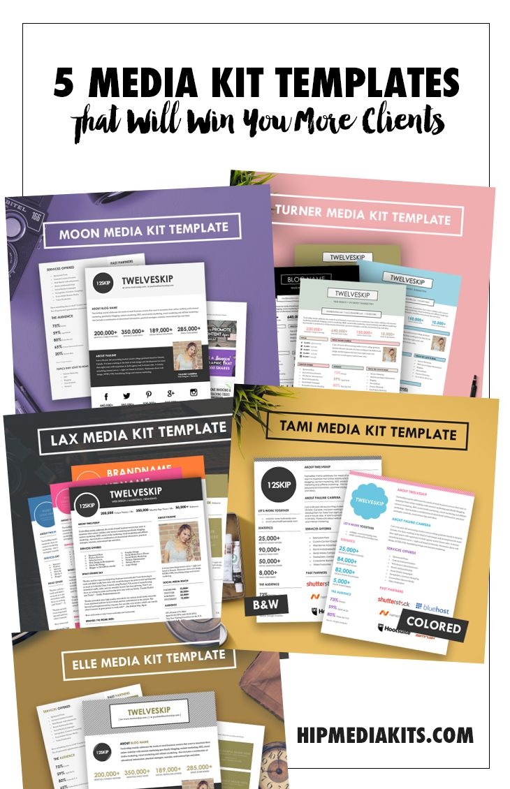 Microsoft publisher media kit template the best free for Online media kit template