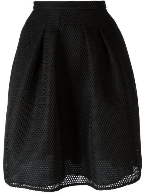 Burberry сетчатая юбка