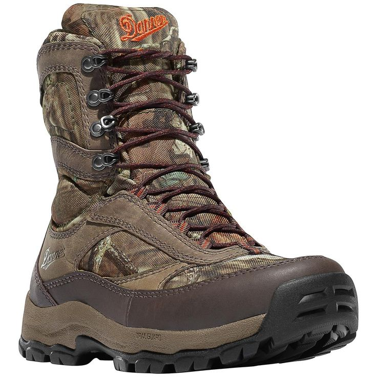 "Women's Danner® 8"" High Ground Waterproof Camo Hunting Boots, Mossy Oak® Break-Up Infinity®"