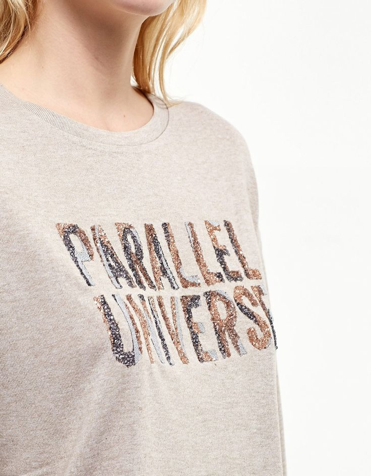 Shiny technical top - T-shirts | Stradivarius United Kingdom